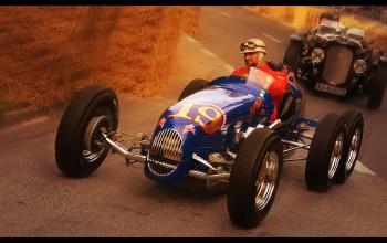 1948 Pat Clancy Sixwheeler Indycar