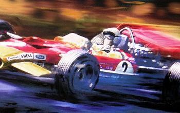 Jochen Rindt | Lotus 49B