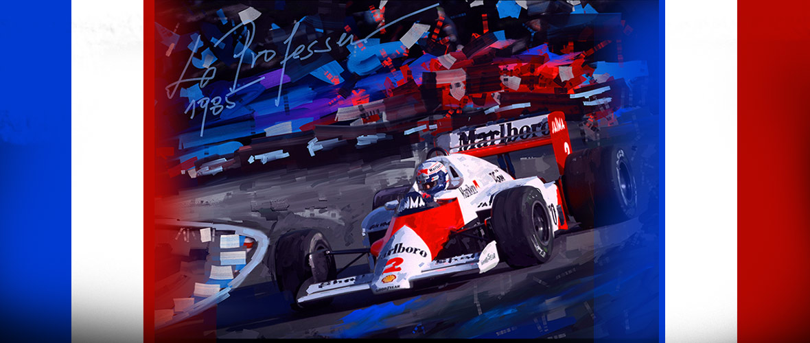 Alain Prost 60 years