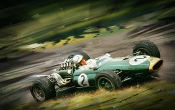 Denny Hulme (NZ) 1967: F1 Brabham BT20